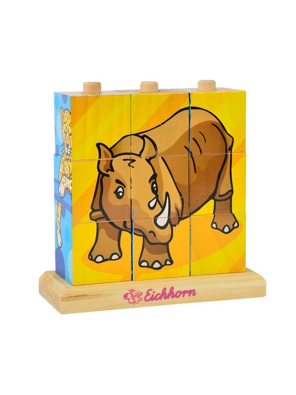 Image of   Eichhorn Block Puzzle Animals