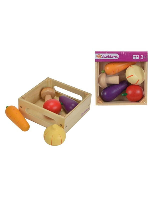 Image of   Eichhorn wooden box with vegetables