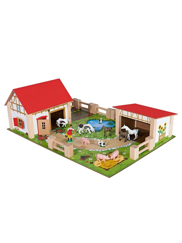 Image of   Eichhorn Farm Playset