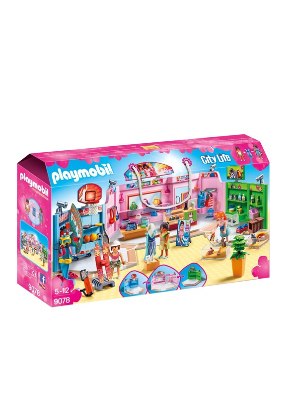 Image of   Playmobil City Life - Butikscenter