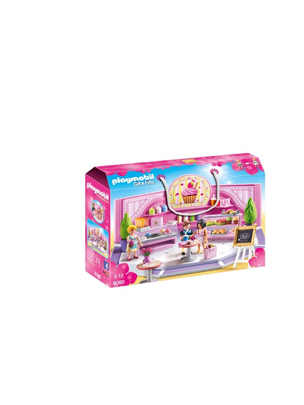 Image of   Playmobil City Life - Cupcake-butik