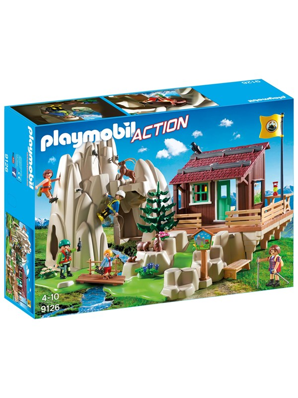Image of   Playmobil Action - Bjergklatrere med kabine