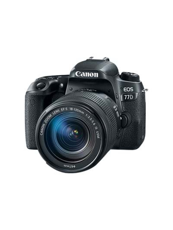 Image of   Canon EOS 77D 18-135mm IS USM