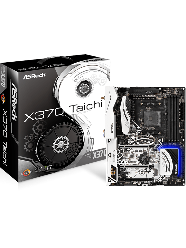 Image of   ASRock X370 Taichi Bundkort - AMD X370 - AMD AM4 socket - DDR4 RAM - ATX