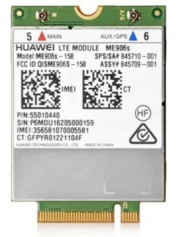 Image of   HP LT4132 Wireless cellular modem 4G LTE M.2 Card