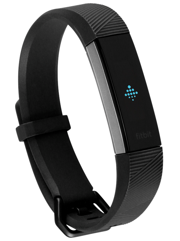 Image of   Fitbit Alta HR - Large - stainless steel/black