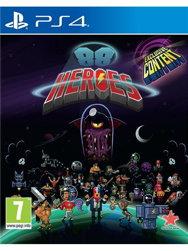 Image of   88 Heroes - Sony PlayStation 4 - Action