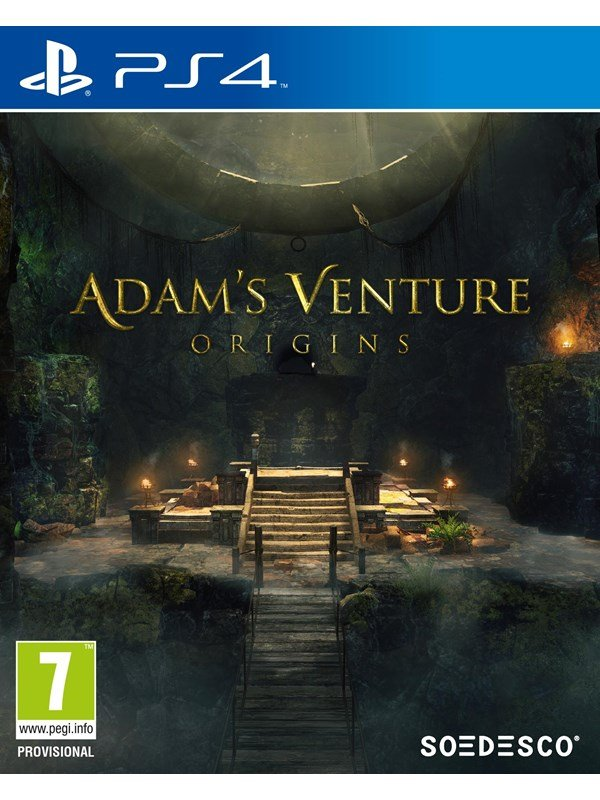 Image of   Adam's Venture: Origins - Sony PlayStation 4 - Eventyr