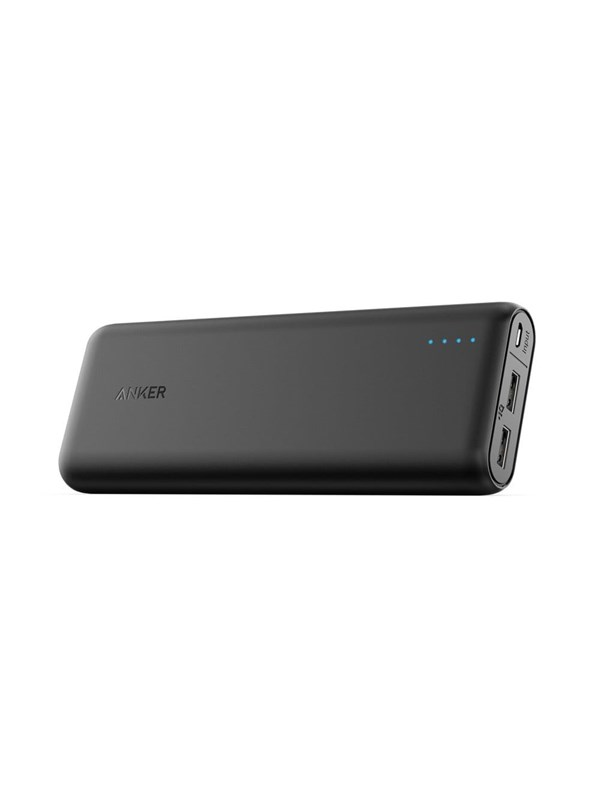 Image of   Anker PowerCore 20100 PowerIQ Powerbank - Sort - 20100 mAh