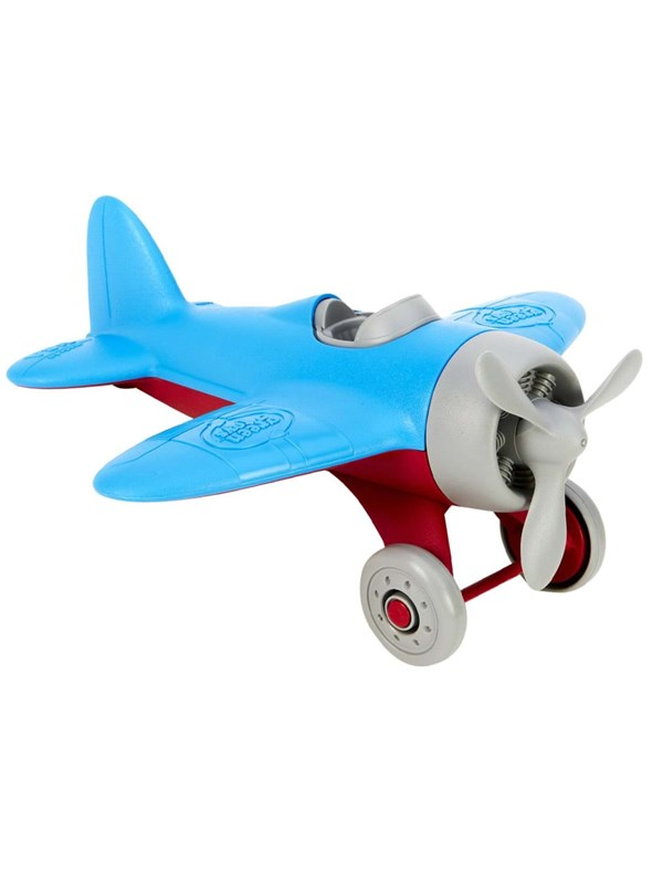 Image of   Green Toys Airplane-Blue