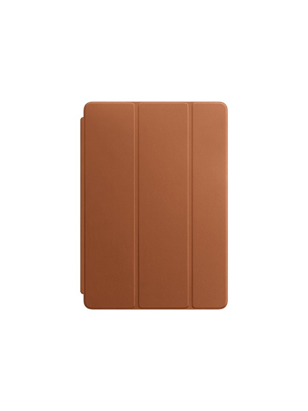 "Image of   Apple iPad Pro 10.5"" Leather Smart Cover - Saddle Brown"
