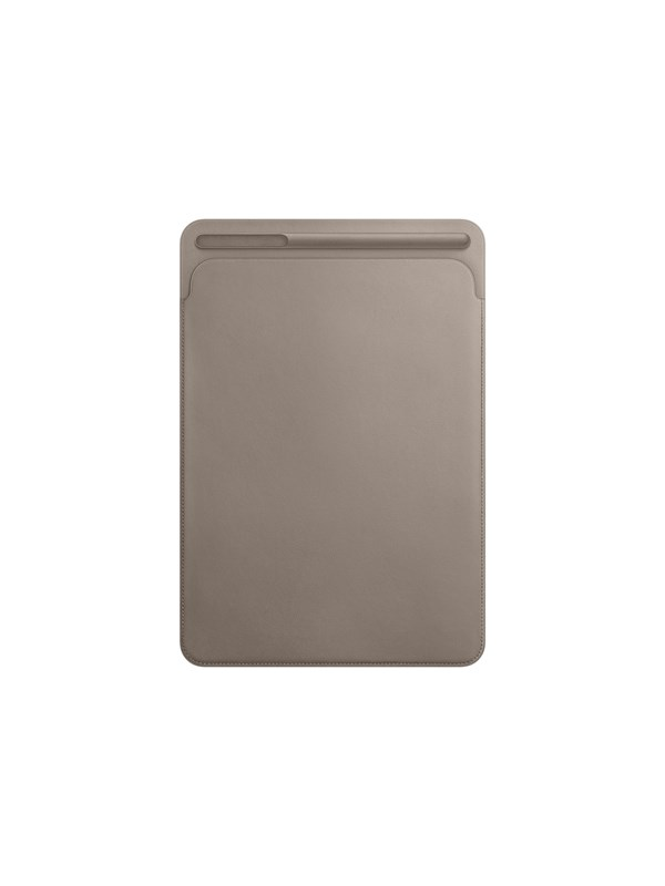 "Image of   Apple iPad Pro 10.5"" Leather Sleeve - Taupe"