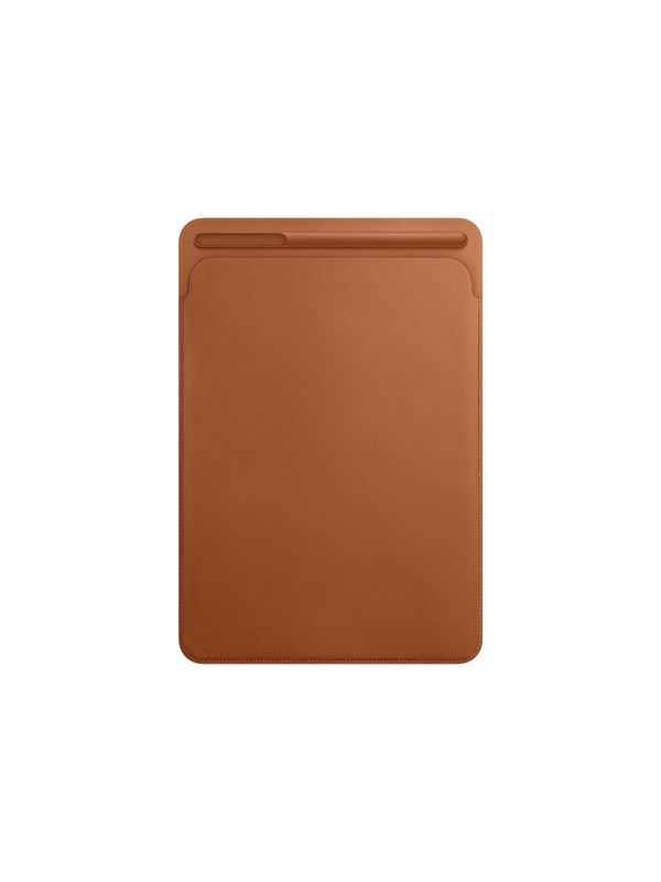"Image of   Apple iPad Pro 10.5"" Leather Sleeve - Saddle Brown"