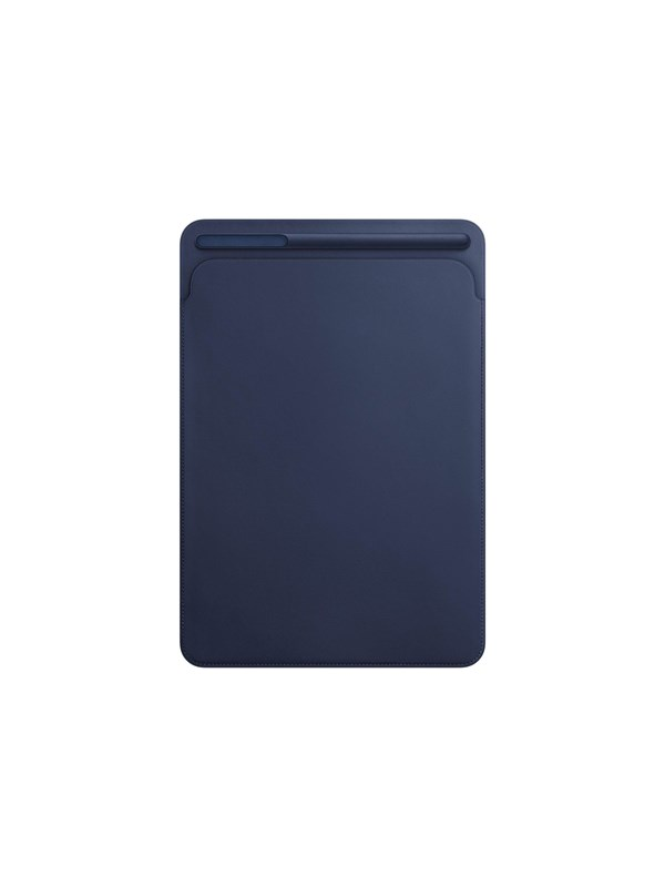 "Image of   Apple iPad Pro 10.5"" Leather Sleeve - Midnight Blue"
