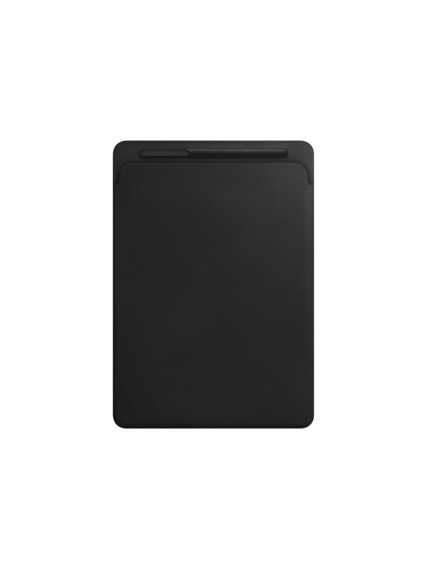 "Image of   Apple iPad Pro 12.9"" Leather Sleeve - Black"