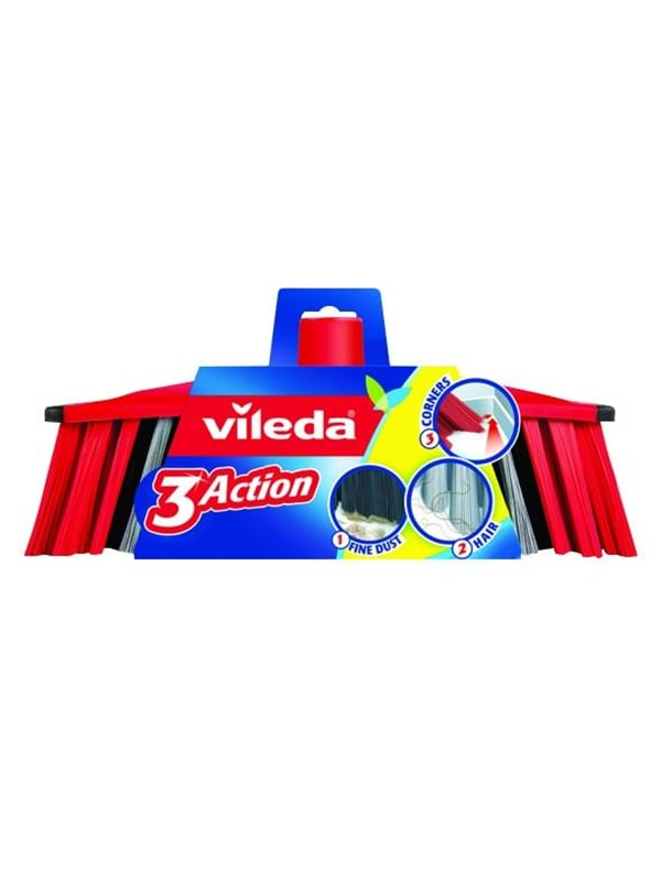 Image of   Vileda 3 Action Broomhead