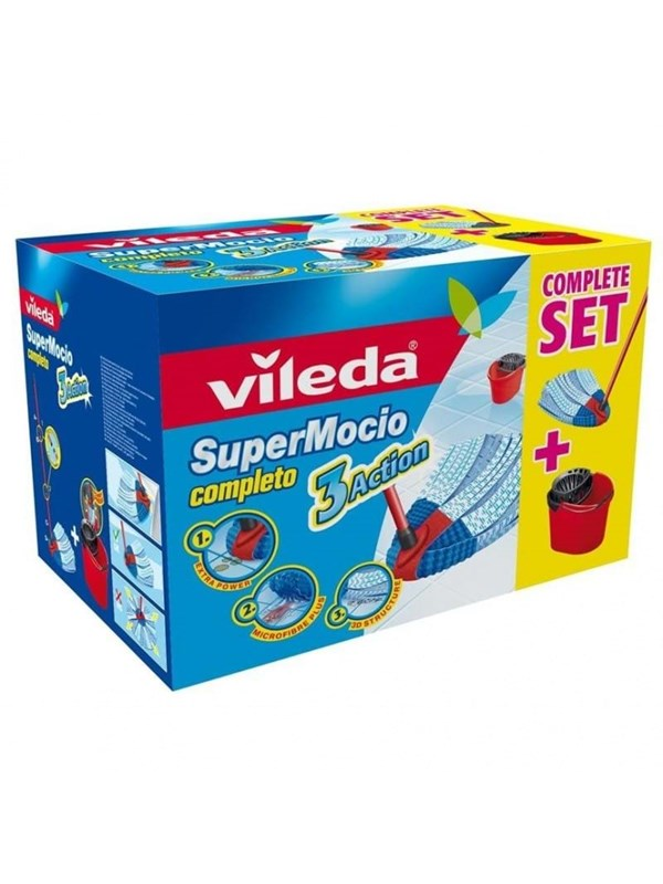 Image of   Vileda SuperMocio 3Action Complete set