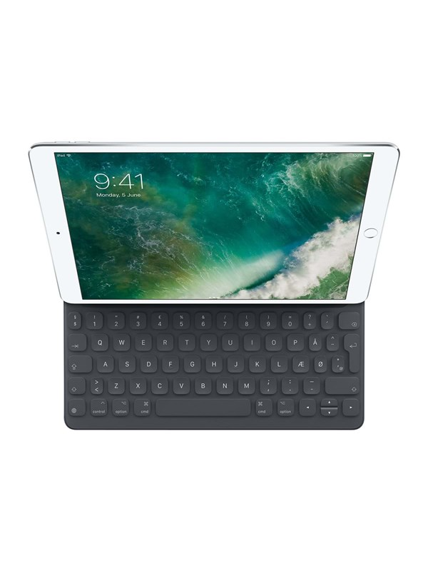 Image of   Apple Smart Keyboard for 10.5-inch iPad Pro - Danish - Tastatur & Folio sæt - Dansk - Sort