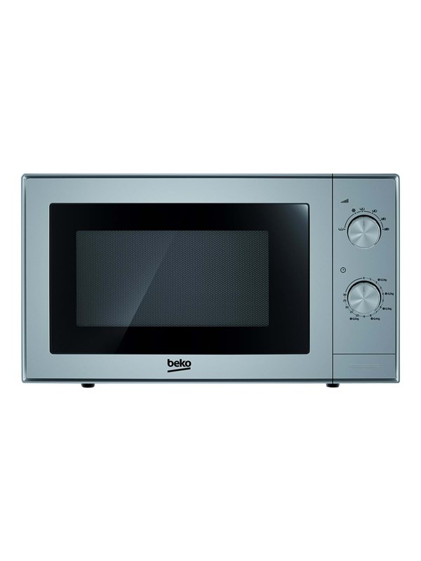 beko MOC20100S - microwave oven with grill - freestanding - silver