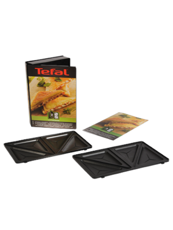 Tefal 2 Plates for Triangular Sandwiches Toast
