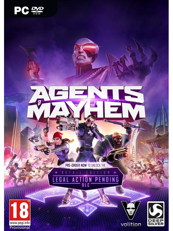 Image of   Agents of Mayhem - Windows - Action