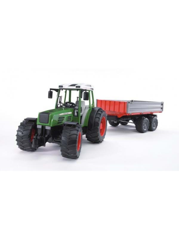 Image of   Bruder Fendt 209 S with tipping trailer