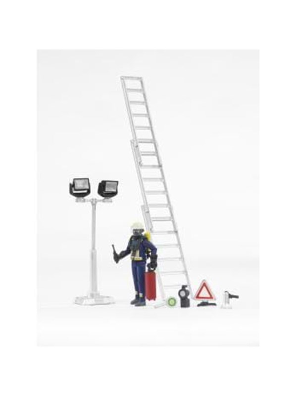 Image of   Bruder Fire brigade figure-set