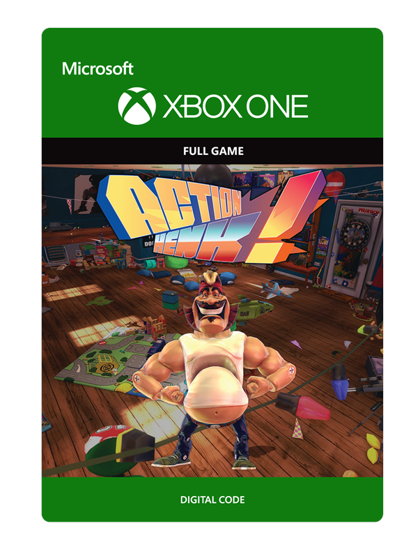 Image of   Action Henk - Microsoft Xbox One - Eventyr