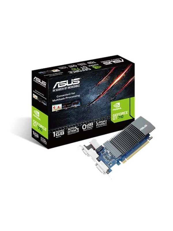 Image of   ASUS GeForce GT 710 Silent - 1GB GDDR5 RAM - Grafikkort