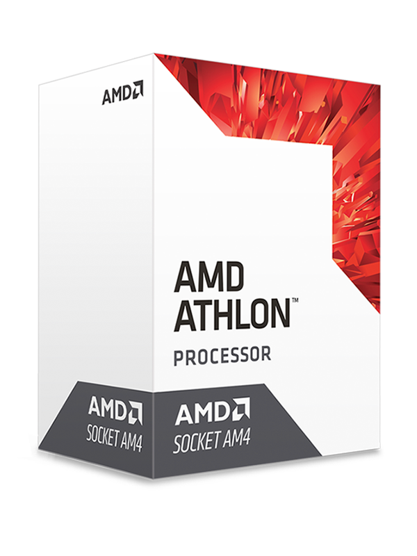 Image of   AMD Athlon X4 950 CPU - 4 kerner 3.5 GHz - AMD AM4 - AMD Boxed (PIB - med køler)