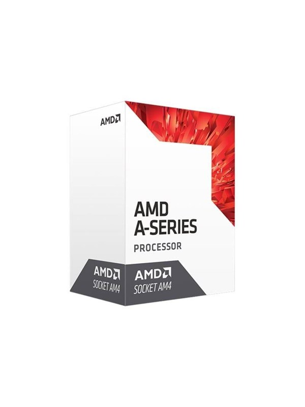 Image of   AMD A10-9700 CPU - 4 kerner 3.5 GHz - AMD AM4 - AMD Boxed (PIB - med køler)
