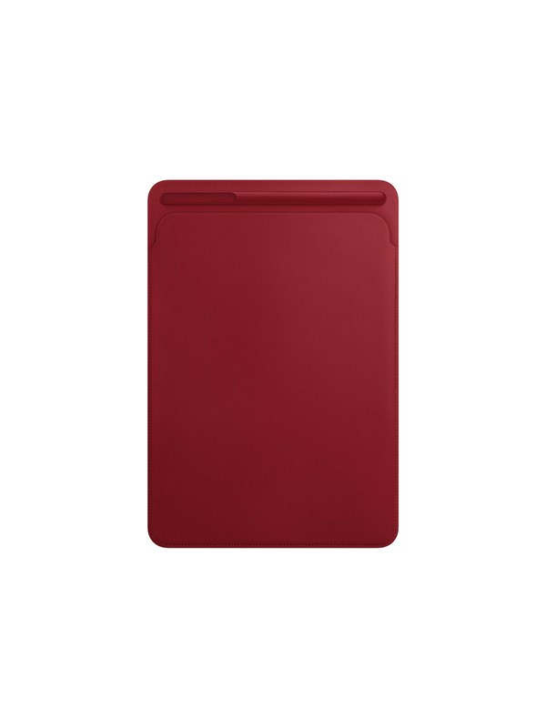"Image of   Apple iPad Pro 10.5"" Leather Sleeve - (PRODUCT)RED"