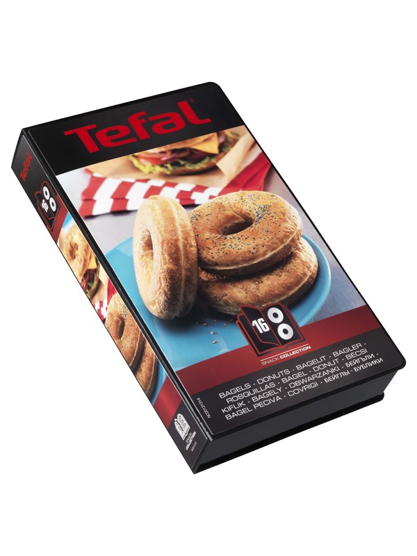 Tefal XA801612 Snack Collection - Box 16 Bagels