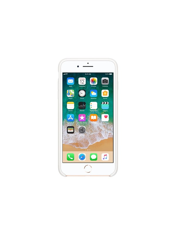 Image of   Apple iPhone 7/8 Plus Silicone Case - White