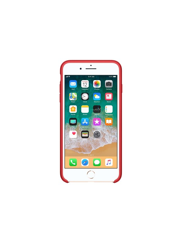 Image of   Apple iPhone 7/8 Plus Silicone Case - (PRODUCT)RED