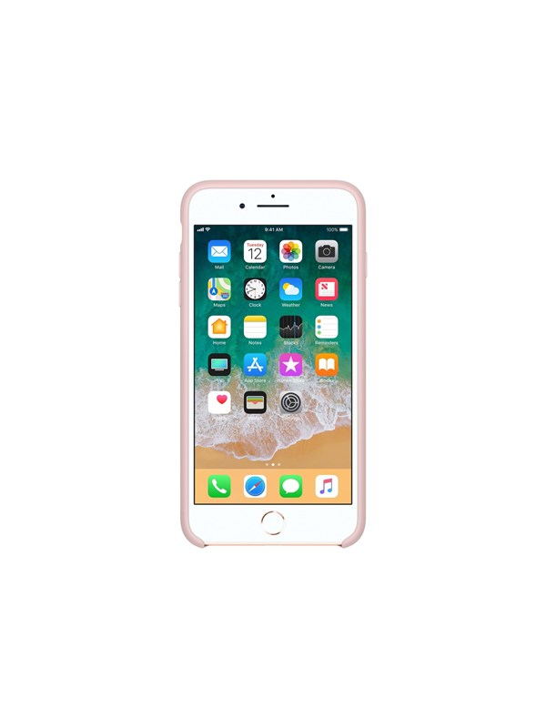 Image of   Apple iPhone 7/8 Plus Silicone Case - Pink Sand