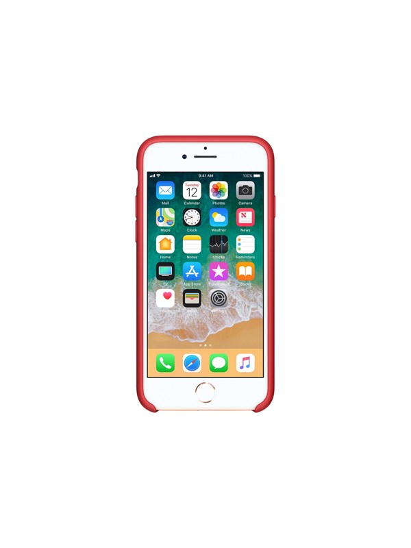 Image of   Apple iPhone 7/8 Silicone Case - (PRODUCT)RED