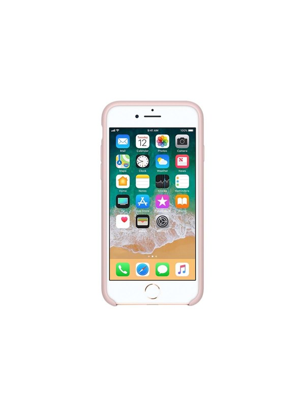 Image of   Apple iPhone 7/8 Silicone Case - Pink Sand