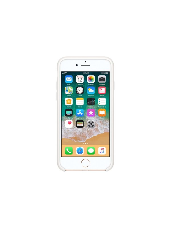 Image of   Apple iPhone 7/8 Silicone Case - White