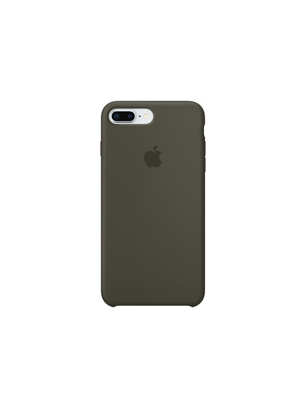 Image of   Apple iPhone 7/8 Plus Silicone Case - Dark Olive