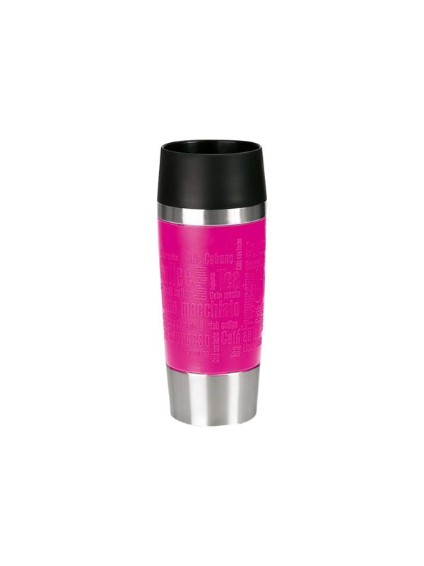Image of   EMSA Thermal Travel Mug 0.36L - Raspberry