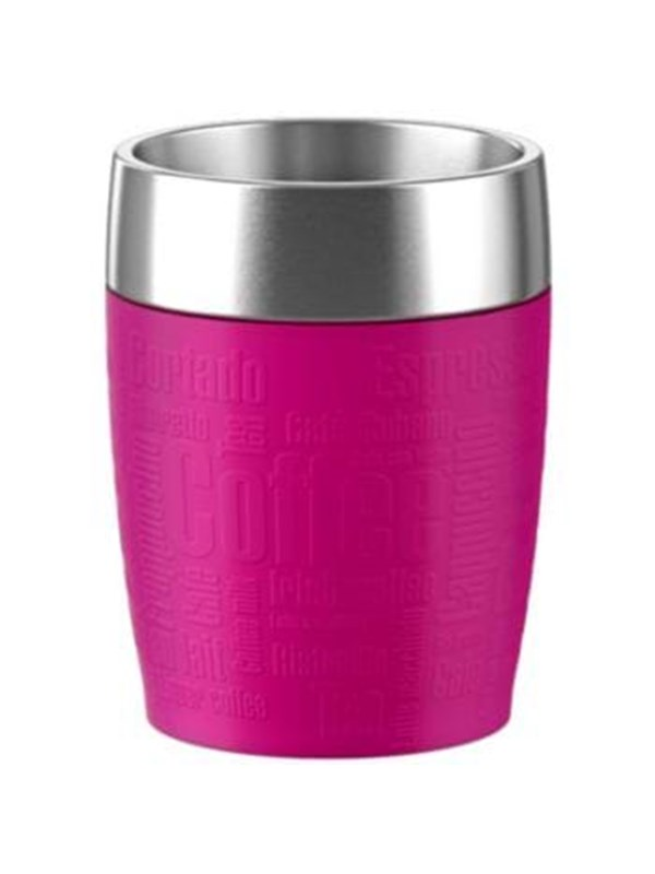 Image of   EMSA Thermal Travel Mug 0.2L - Raspberry