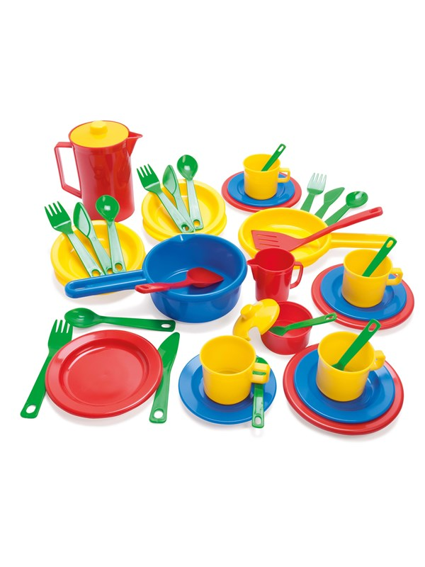 Image of   Dantoy KITCHEN PLAY SET IN BOX 42 PCS.