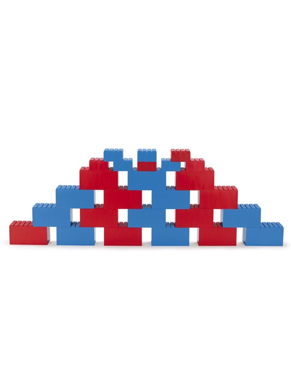 Image of   Dantoy BUILDING BLOCKS 26 PCS. (18 BIG AND 8 SMALL) RED A