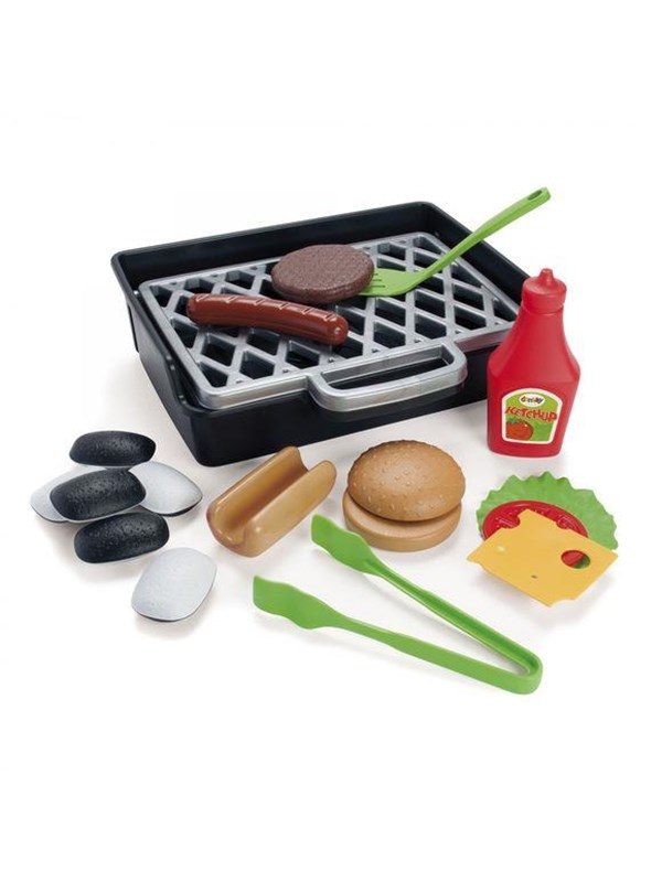 Image of   Dantoy MY LITTLE BBQ PLAY FOOD
