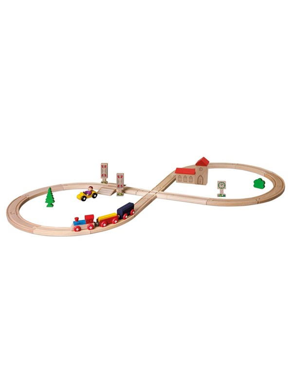 Image of   Eichhorn Train Set with Accessories pcs
