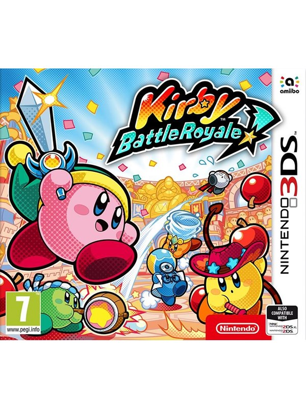 Kirby Battle Royale - Nintendo 3DS - Action