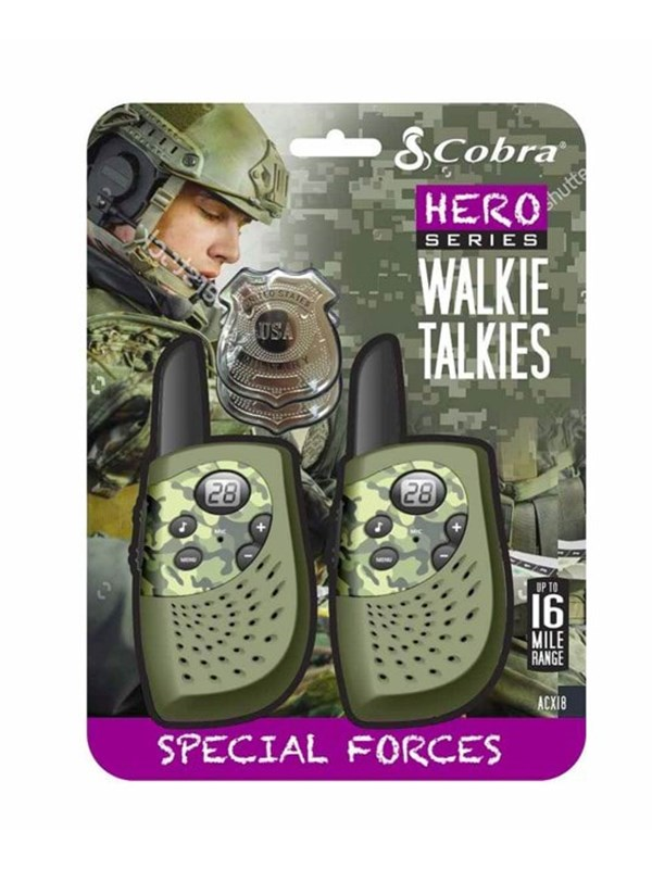 Image of   Cobra Walkie Talkie Special Forces