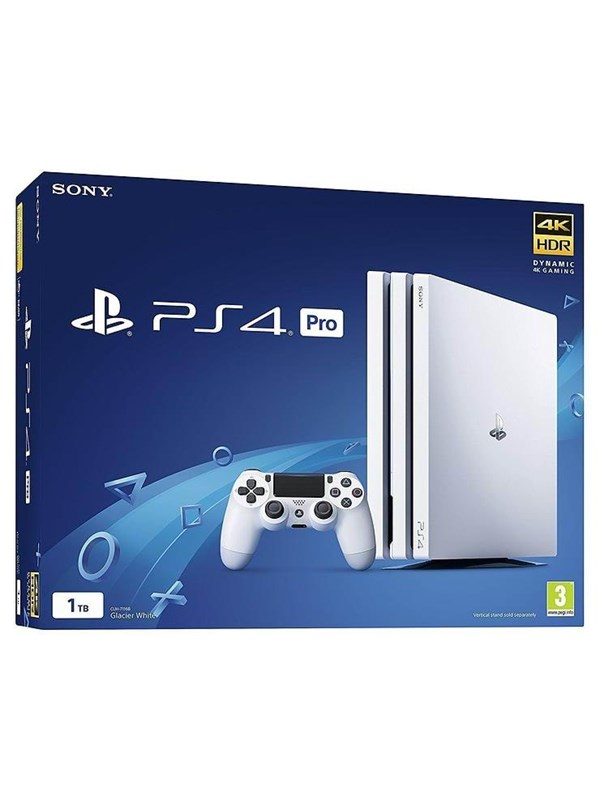 Image of   Sony Playstation 4 Pro - 1 TB (White Edition)