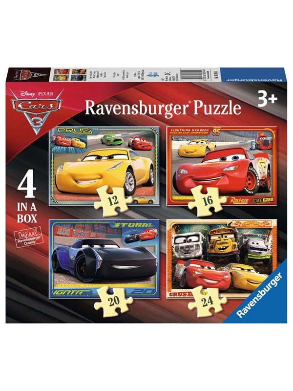 Ravensburger Disney Cars 3 Puzzle 4in1